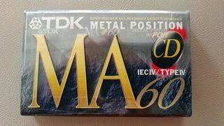 TDK METAL POSITION 60min. NUEVA, PRECINTADA.