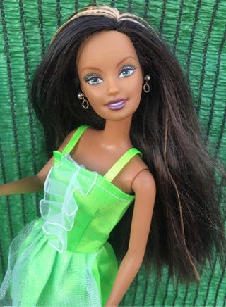 Muñeca barbie message girls