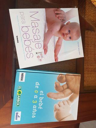 Libro masaje para bebés + regalo