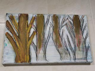 boceto bosque