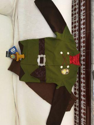 disfraz Reversible Disney Peter pan y capitán garf