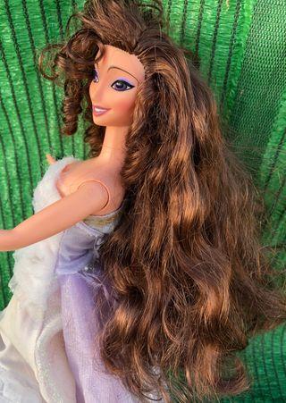 Muñeca barbie megara Disney hercules