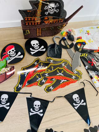Set fiesta Piratas Delux con piñata