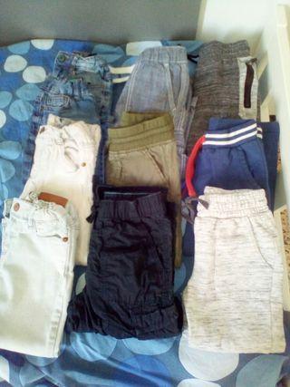 ropa niño pantalones largos talla de 2a4 años