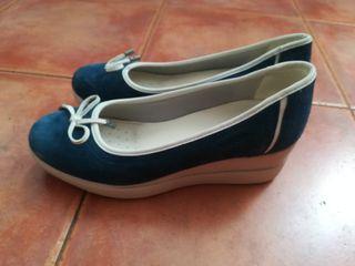 Geox azules de verano T40