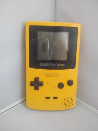 Game Boy Color + Pokémon Rojo Amarillo Azul +cable
