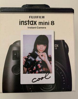 Instax Mini 8 de Fujifilm en negro A Estrenar