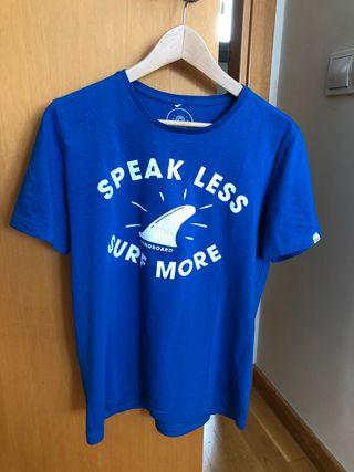 Camiseta azul Surfera