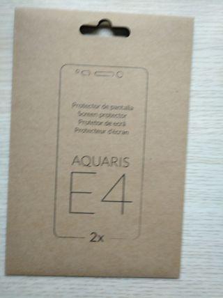 1 protector de pantalla bq Aquaris E4 Original