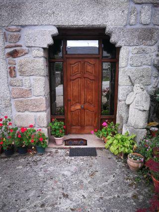 puerta de entrada .