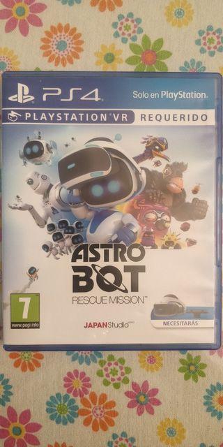 Astro Bot ps4 para VR