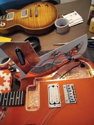 Reparacion, ajuste y mantenimiento guitarra y bajo