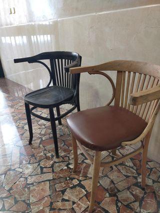 sillas con reposabrazos thonett