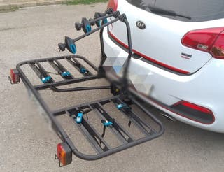 Portabicicletas (Plataforma modular + kit bicis)