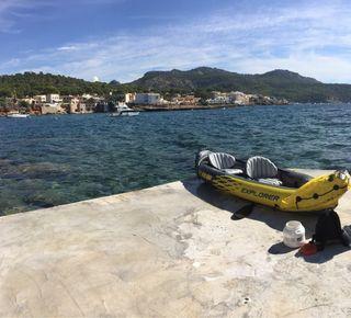 Kayak 2 plazas hinchable