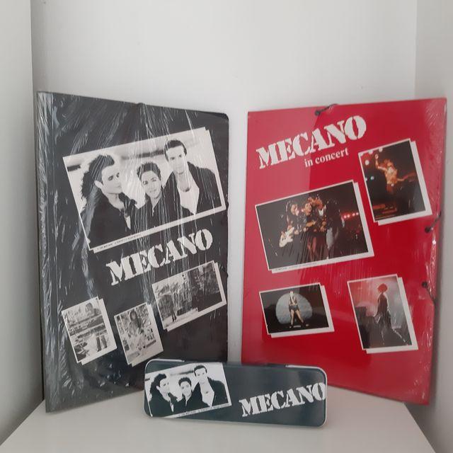 Mecano Carpetas Y Plumier Metalico