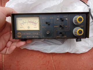 ZETAGI TM-999 SWR y medidor de potencia de RADIO