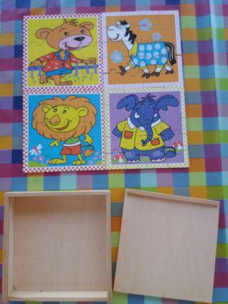 4Puzzles de madera