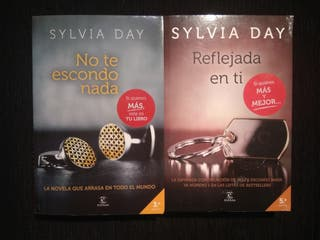 Libros 1 y 2 Saga Crossfire - Sylvia Day