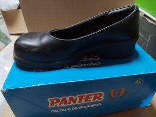 zapatos seguridad mujer