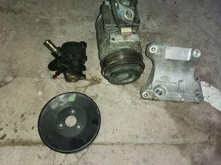 compresor de aire y bomba de dirección ford sierra