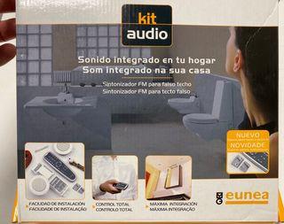 Kit audio,sintonizador FM para falso techo