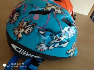 cascos niñ@s marca GES