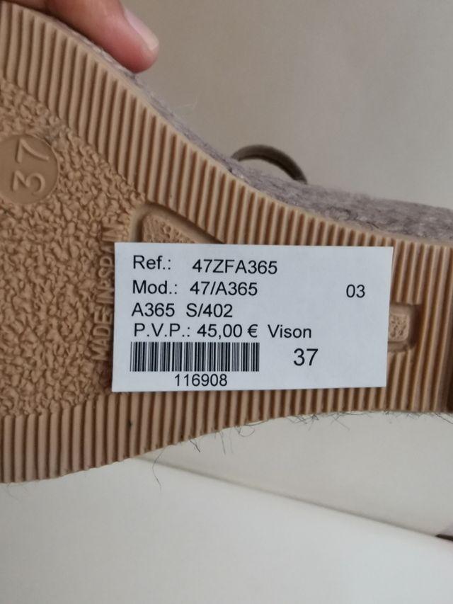 sandalia/cuña PLATINI M365