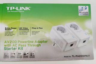 PLC TP-LINK AV200 hasta 300mbps