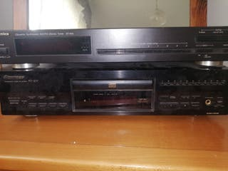 CD y radio technics y pioneer