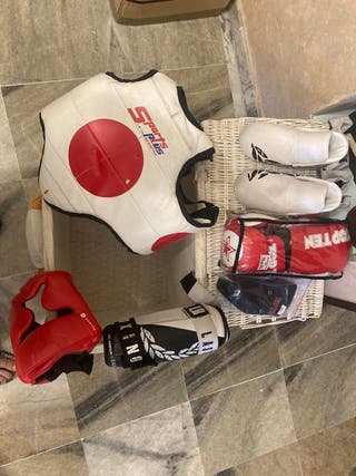 Protecciones boxeo k1 kickboxing