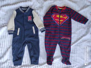Mono,buzo polar. Pijamas. talla 6-9.ropa bebé