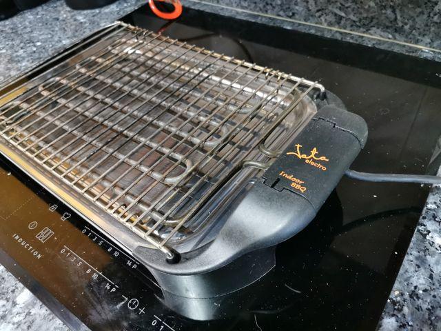 electro barbacoa sin humos