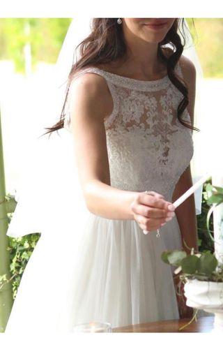Vestido de novia Rosa Clará( en el taller todavia)