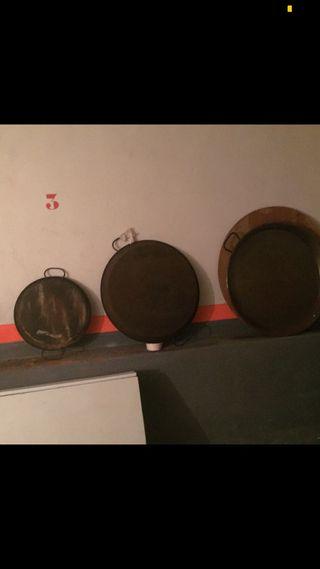 Tres paelleraspico uso