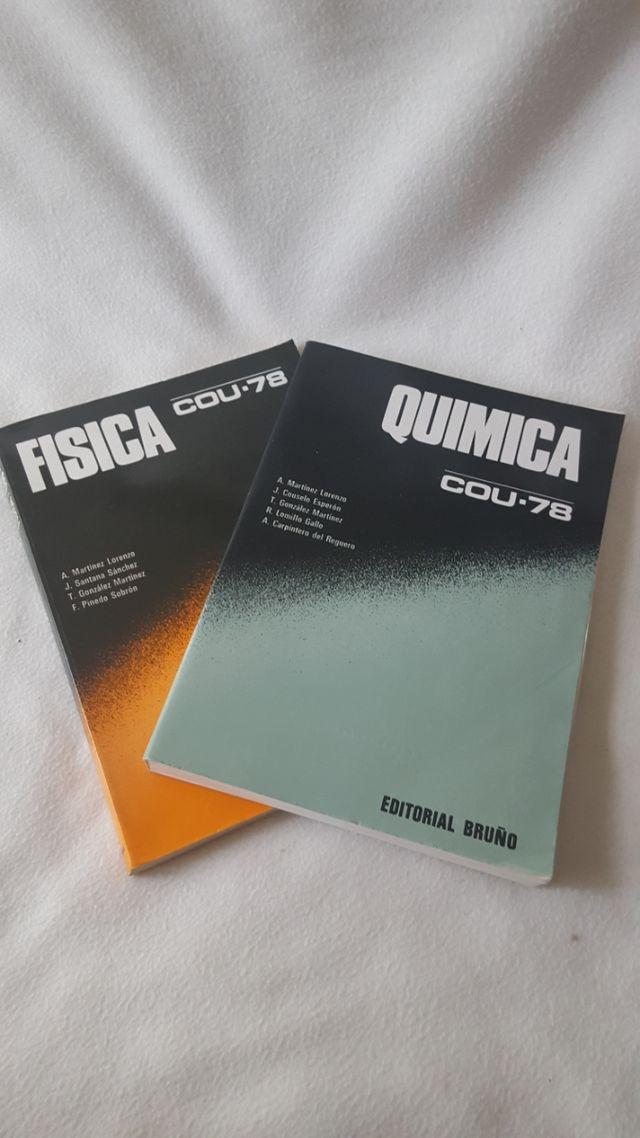 Libros de texto Física y Química COU-78