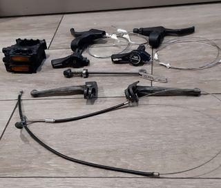 accesorios de bicicletas, antiguos