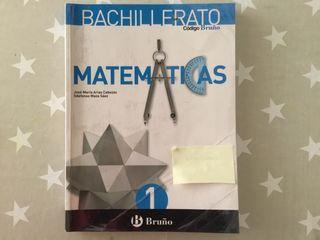 Matemáticas 1, bachillerato, Bruño