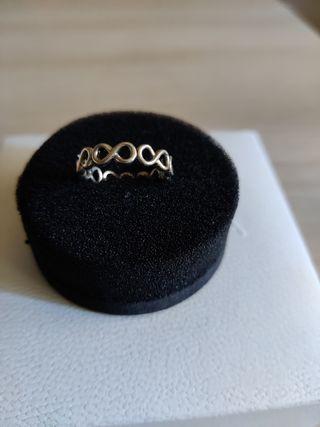 anillo Pandora infinito