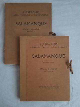 Litografías de Salamanca Ángel Angoso