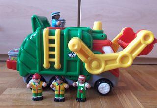 Camión de basura de Wow Toys