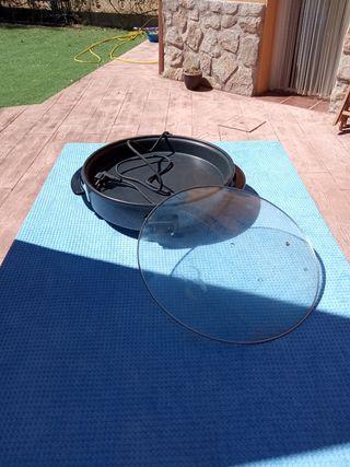 paellera sartén eléctrica 40 centímetros