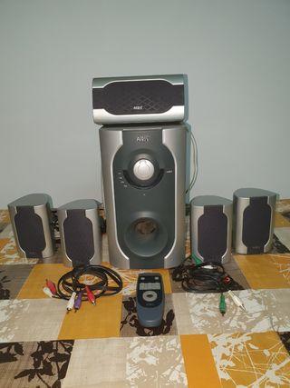 Home Cinema 5.1 Airis L163 Wireless