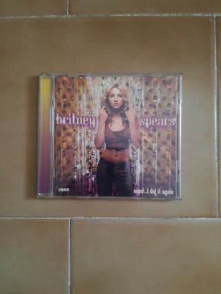 Cd Britney Spears - Oops... I did it again