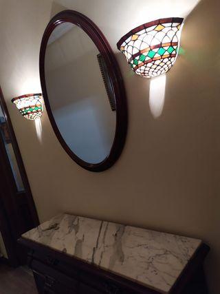 Espejo adorno