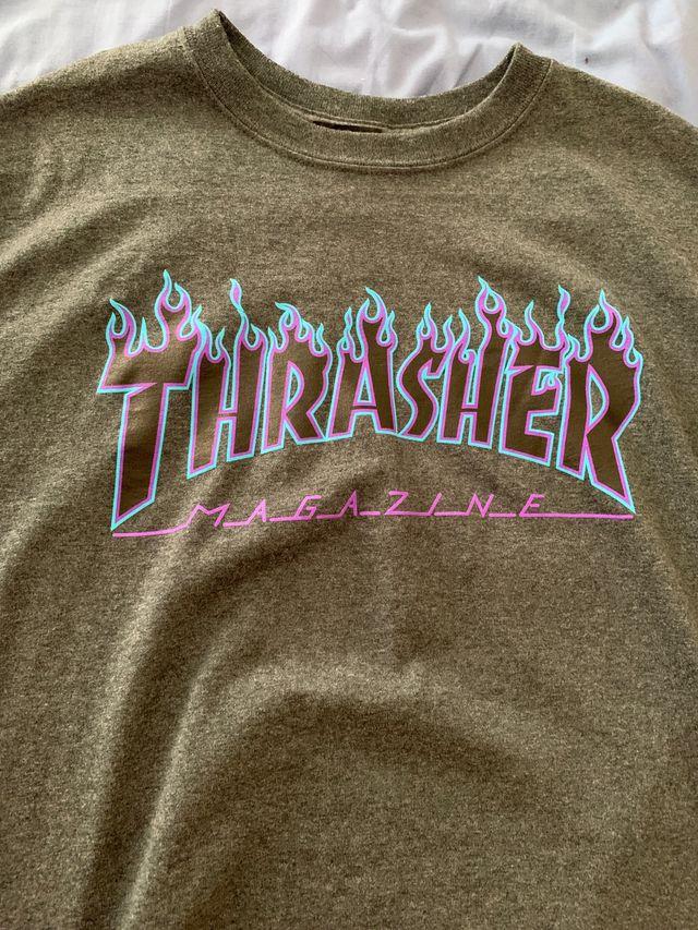 Camiseta Thrasher Gris M