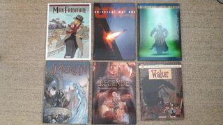 6 cómics en francés