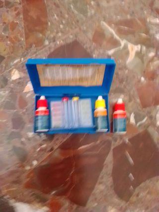 kit medidor de cloro y ph