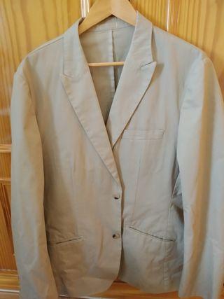 chaqueta verano hombre algodón