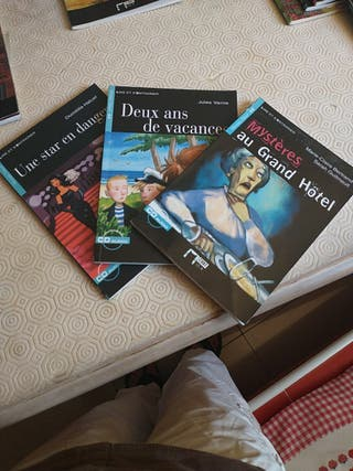 libros de lectura de frances